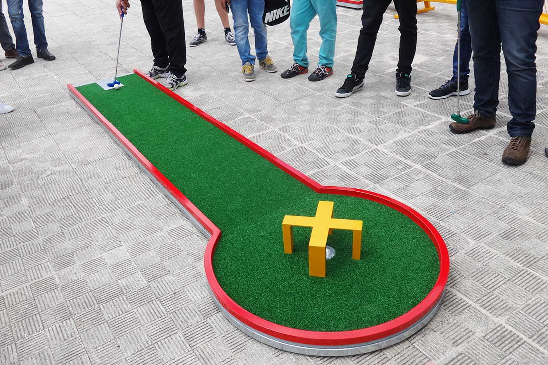 Mini Golf Escola Aguiar da Beira